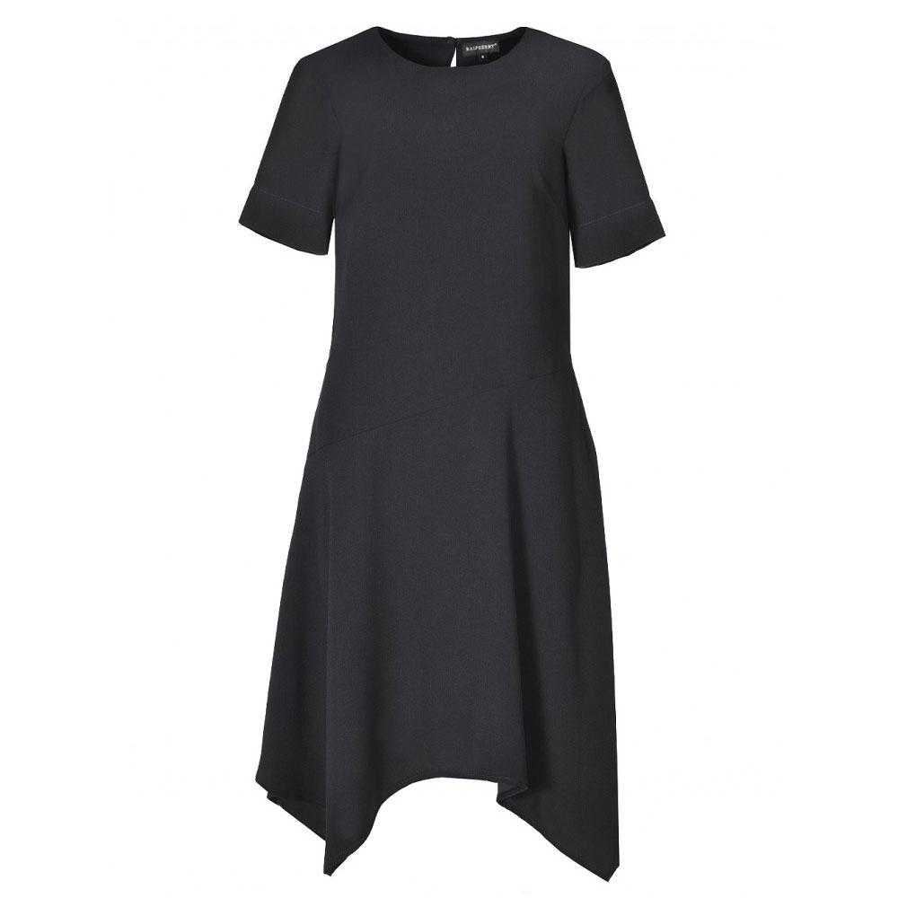 rochie asimetrica cu buzunare