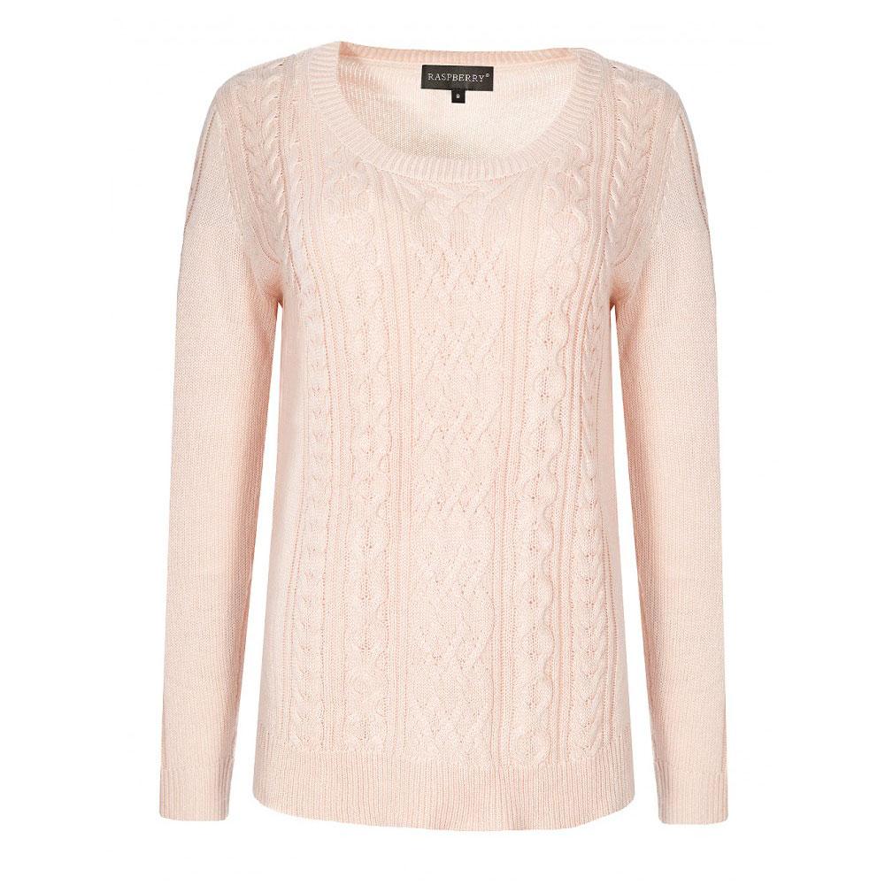 pulover buclat piersica