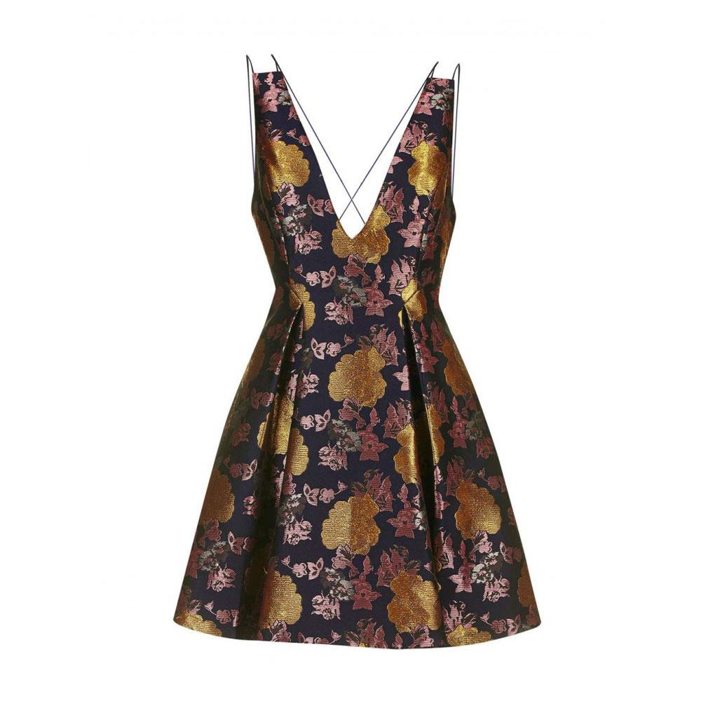 rochie florala cu bretele