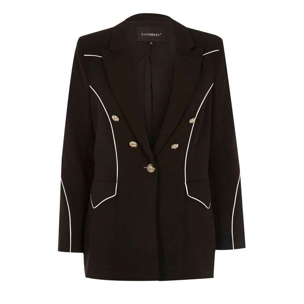 blazer negru