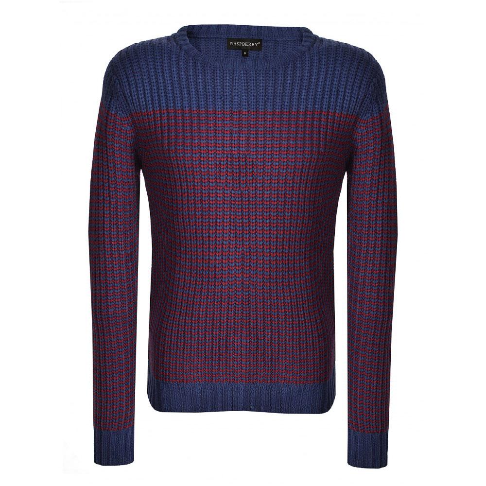 pulover bicolor