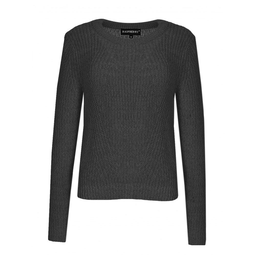 pulover dama negru