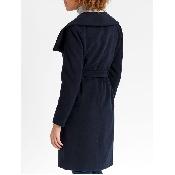 Palton dama negru cu codron
