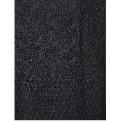 Pulover clasic negru tricotat