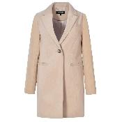 Palton dama cu nasture