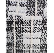 Fusta mini alb/negru