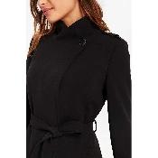 Palton cu guler tunica si nasturi