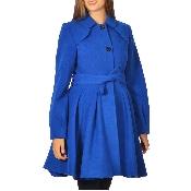 Palton dama cloche