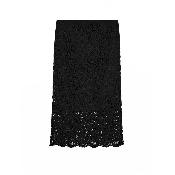 fusta din dantela neagra