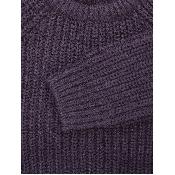 Pulover tricotat cu maneci lungi