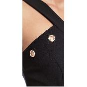 Rochie lunga cu bretele
