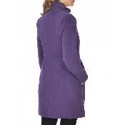 Palton cu guler tunica si capse