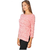 Bluza asimetrica roz