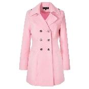 palton dama roz