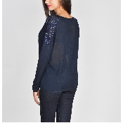 Bluza bleumarin
