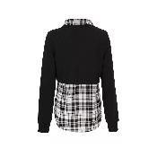 Bluza neagra 2 in 1