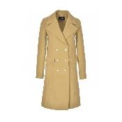 Palton cu nasturi aurii