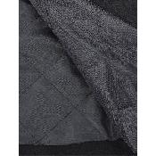 Palton matlasat cu fermoar si buzunare