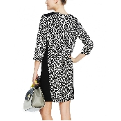 Rochie imprimata leopard