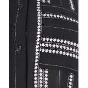 Rochie din tricou imprimata cu stelute