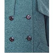Palton cu guler larg